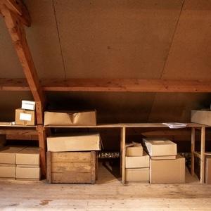 cartons grenier